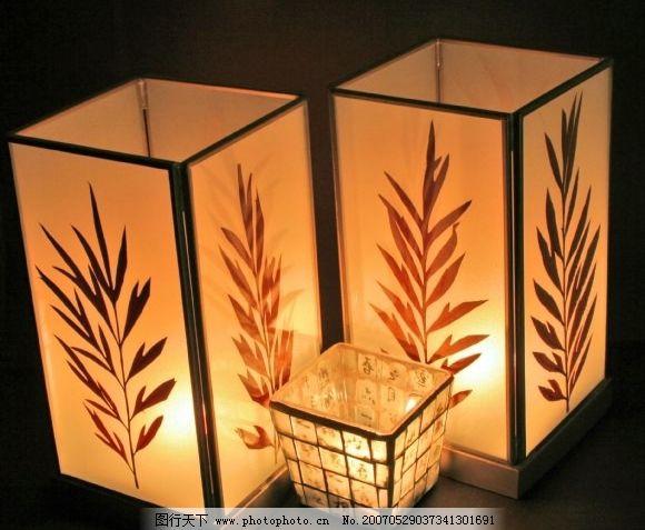 纸灯笼 烛光 火焰 古代照明 生活百科 生活家居用品 烛光蜡烛