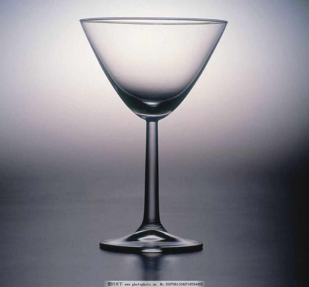 玻璃杯 酒杯子 空杯子 玻璃杯子 酒杯酒瓶 摄影图库