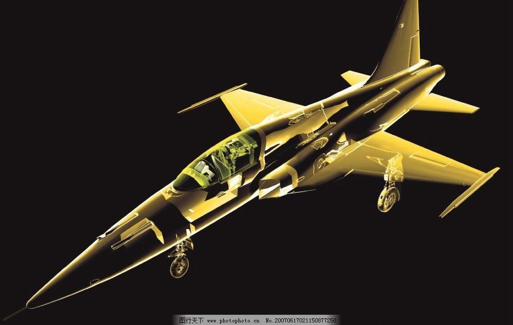 战斗机透视图 飞机透视图 战斗机 透明素材 空间透明素材 透明背景