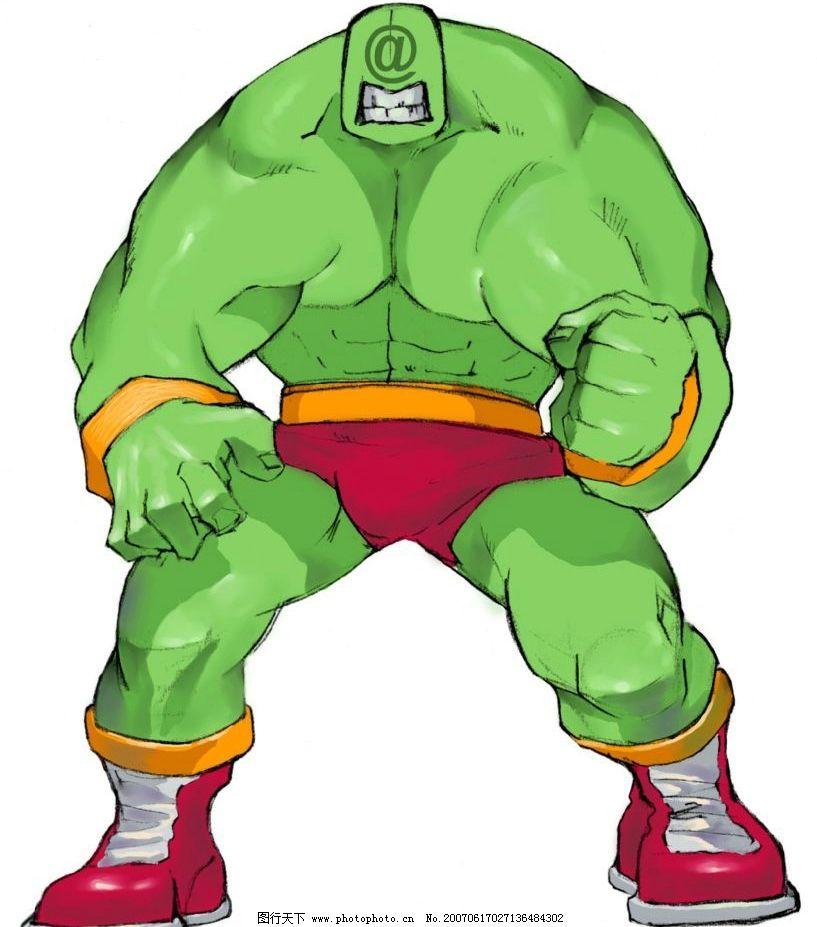 绿色巨人漫画图片