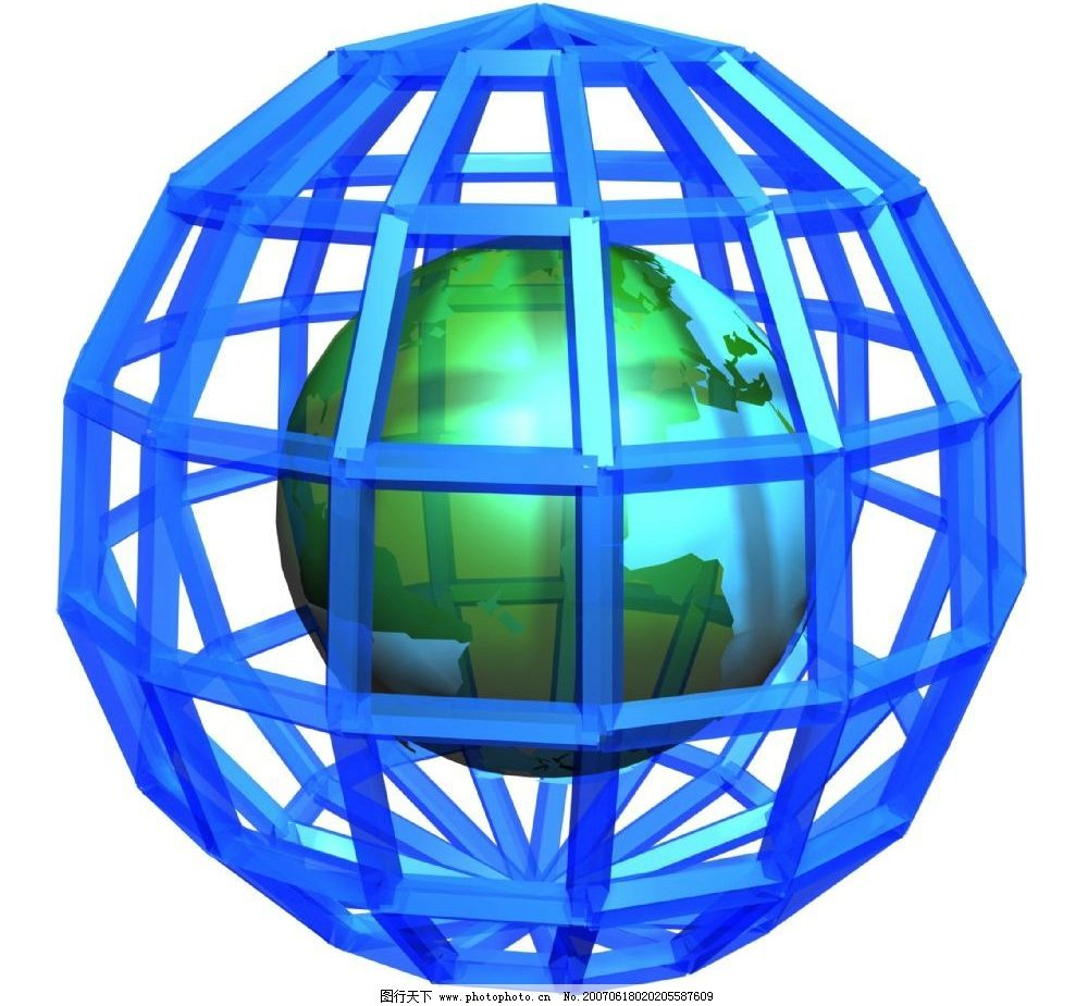 3d地球背景图片