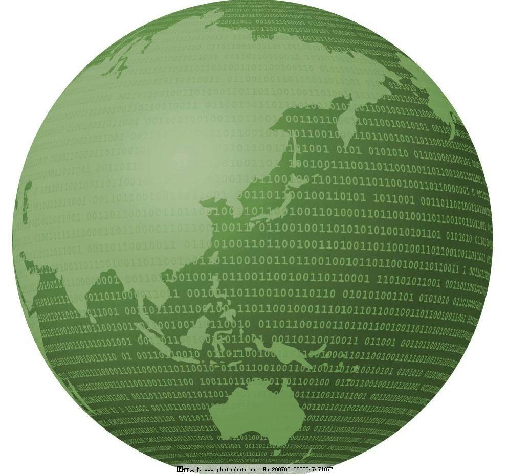 绿色地球 地球背景 网页背景 背景素材 背景图 背景图案 背景图片