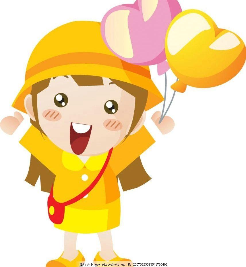 韩国卡通小女孩图片