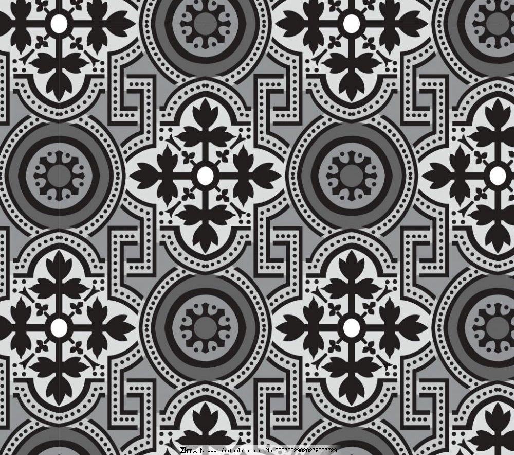 矢量黑白花纹 底纹 底纹图案 底纹矢量 底纹素材 矢量 花纹 花纹图案